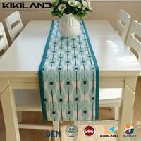Handmade Table Runner Topper/Peacock Design Decorative Table Runner