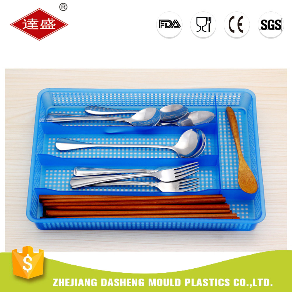 Wholesale Hot Selling Plastic Kitchen Accessories Chopsticks Spoon Holder Rack