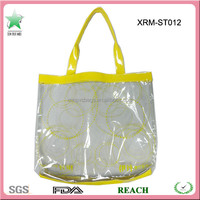 Clear PVC Plastic Tote Bag