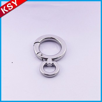 Wholesale High Quality Guangzhou Engraved Logo Swivel Eye Snap Hook With D Ring