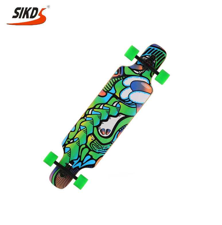 Factory direct longboard maple skate long board cruiser longboard