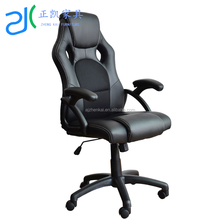 E-commercial Quality WorkWell Comfortable Modern Swivel Gamer Gaming Chair With Fixed Armrest