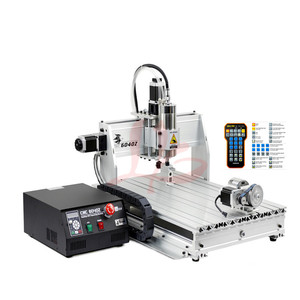 China CNC engraving machine 6040 Z-USB 4axis 2.2KW with mach3 remote controller CNC Engraving Drilling and Milling Machine