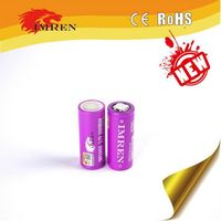 Cylindrical 26650 lipo battery 5500mah deep cycle battery cell 26650