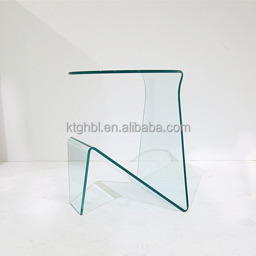 Latest Design Bent Glass Newspaper Rack