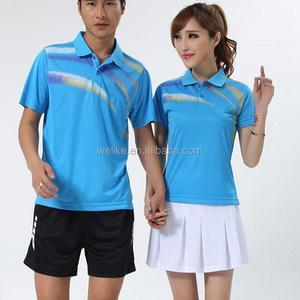 af1c7f5b9 Blue Badminton Jersey For Women