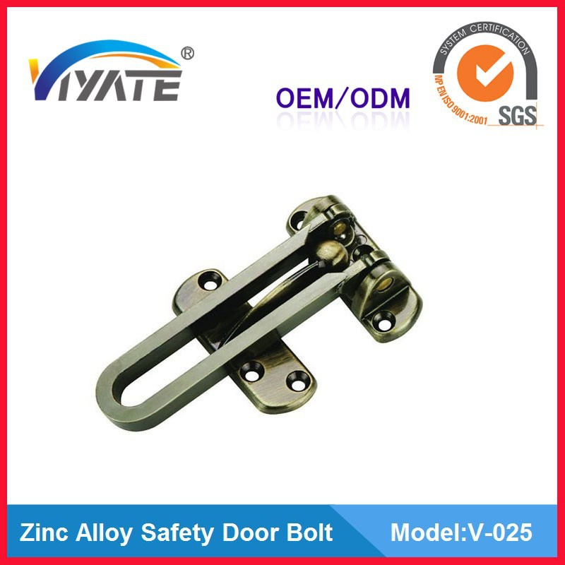 Cabinet security door bolt/vertical door bolt/saft latch