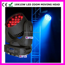 4PCS/LOT 19pcs*12W 4in1 RGBW LED Moving Head Beam+Wash+Zoom Light 4in1 With 16 Channels For Theater,TV ,Disco