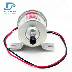 HEP-02A Gas Diesel fuel pump Inline Low Pressure electric fuel pump For 12V Cars
