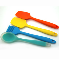 silicone spatula utensil set silicone kitchen dining utensil sets