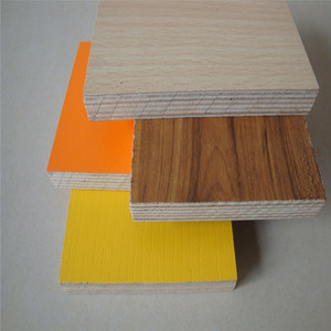 Edlon Wood Products Hot sale china xuzhou factory melamine HPL plywood for cabinet