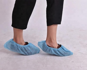 Custom Sizes Disposable Non-slip Non woven Medical Shoe Covers plastic shoe covers