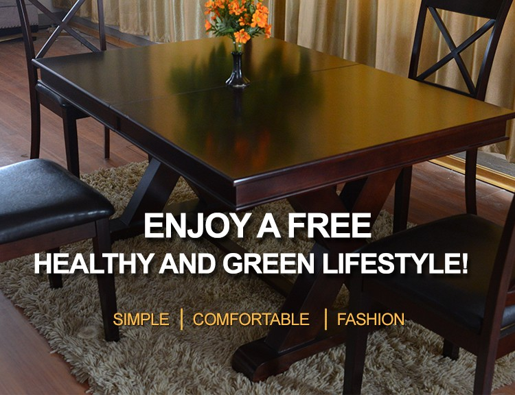 Popular Design Comfortable Dining Table Made In Vietnam
