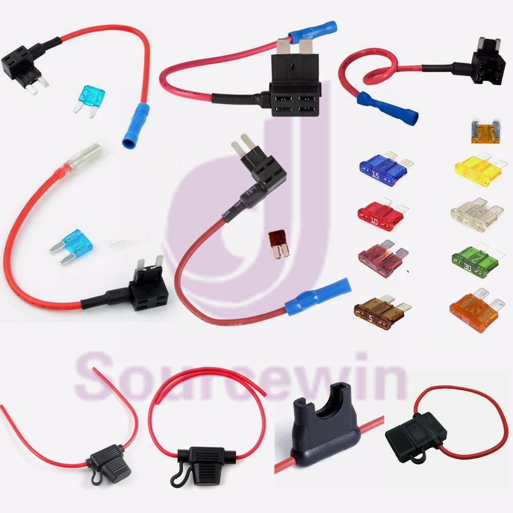 Custom Electronic Copper Wire Fuse Box 30 Amp Auto Marine In-line Fuse  Holder