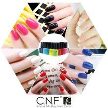 Hot sale 1pcs color 90486 CNF Nail Art Fashion Soak Off UV Gel Nail Polish UV