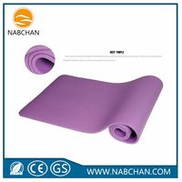 Factory price washable PVC anti slip yoga mat