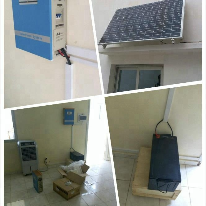 300W mini Solar ups power system / China solar <strong>energy</strong> products manufacturer