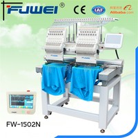 2 Head Cap Embroidery Machine /3D Computer embroidery machine price
