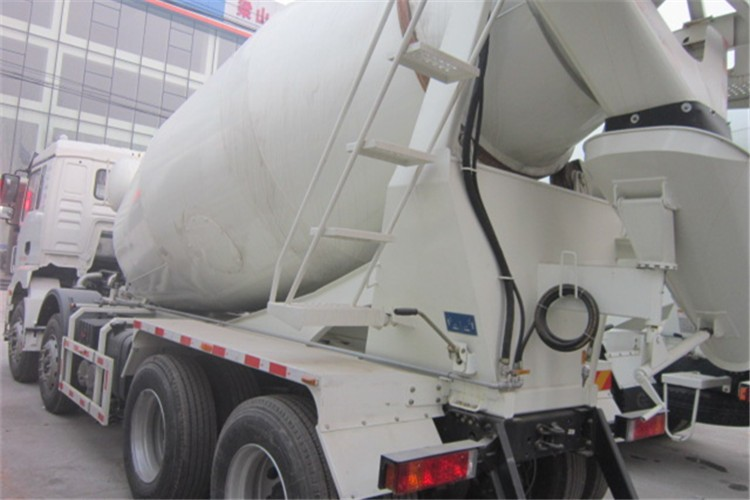 New Cheap high quality concrete mixer semi trailer for sale