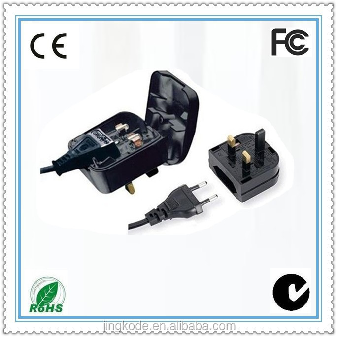 220v input 13A fuse Euro/USA to uk plug adaptor eu to uk adapter