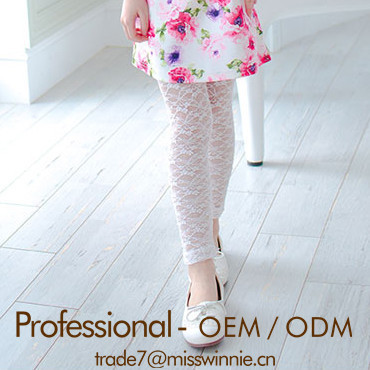 Lovely girls leggings girls lace legging wholesale children's clothing usa