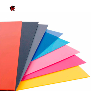 china best factory customized colored plastic sheet cut to size