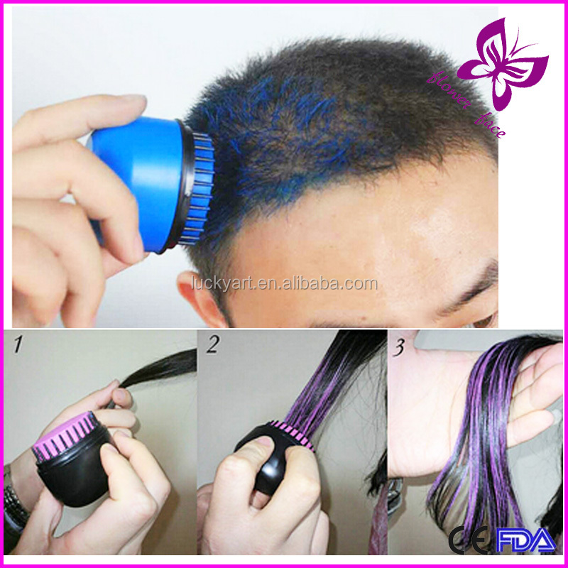 instant temporary fashion popular safe ingredients sticks hair dye hairs chalk pen - Hair Color Pen
