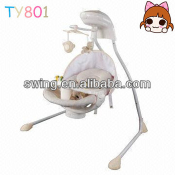 High Baby Electric Swing indoor Swing Chair Bed Automatic Cradle