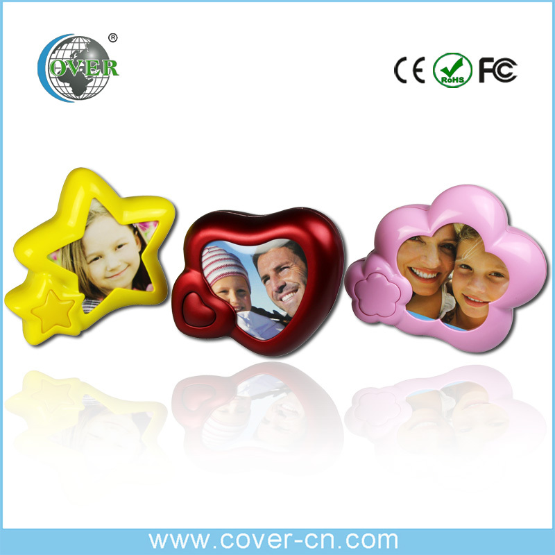 Colorful design custom talking photo frame digital voice recorder on sale