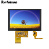 China suppliers 5.0inch LCD display touch screen module 800*480 display for Smart home