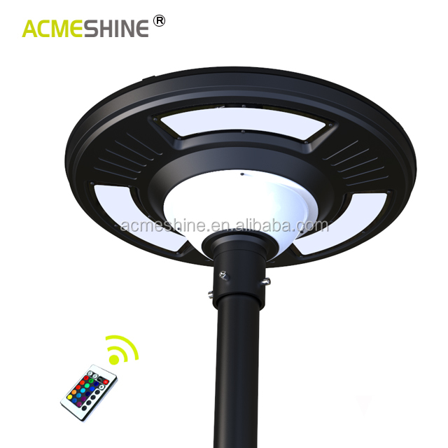UFO integrated solar power Led street light 15w solar  led street garden lamp