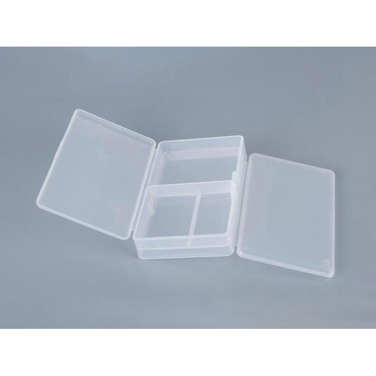 6 Compartiment organisateur de stockage boîte en plastique école Craft Art Case Large 39.5 cm