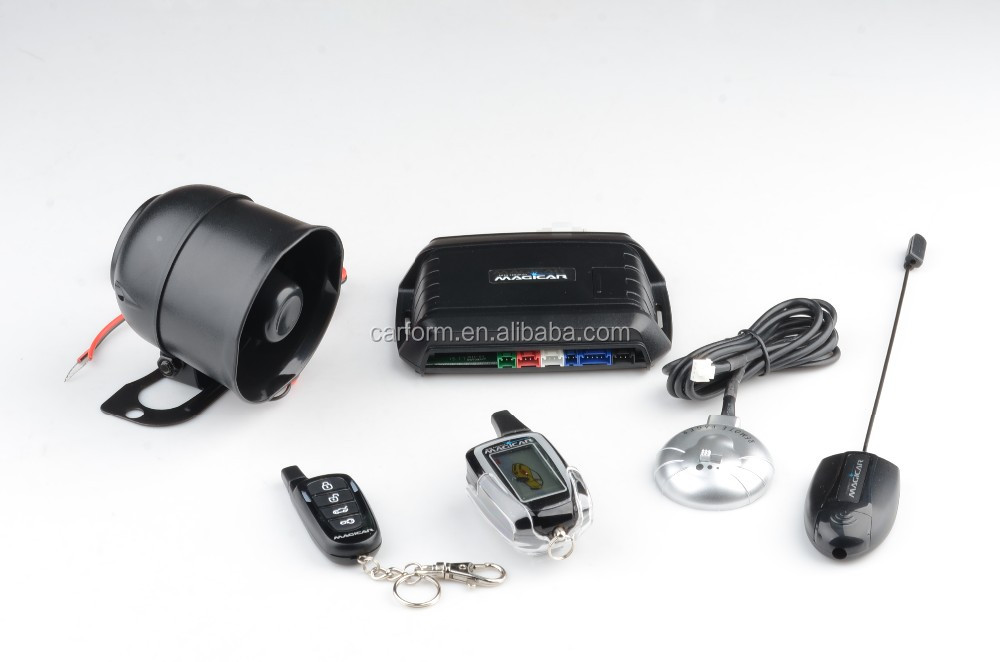 New Top Two Way Car Alarm With Remote Engine Start And Super Long ...
