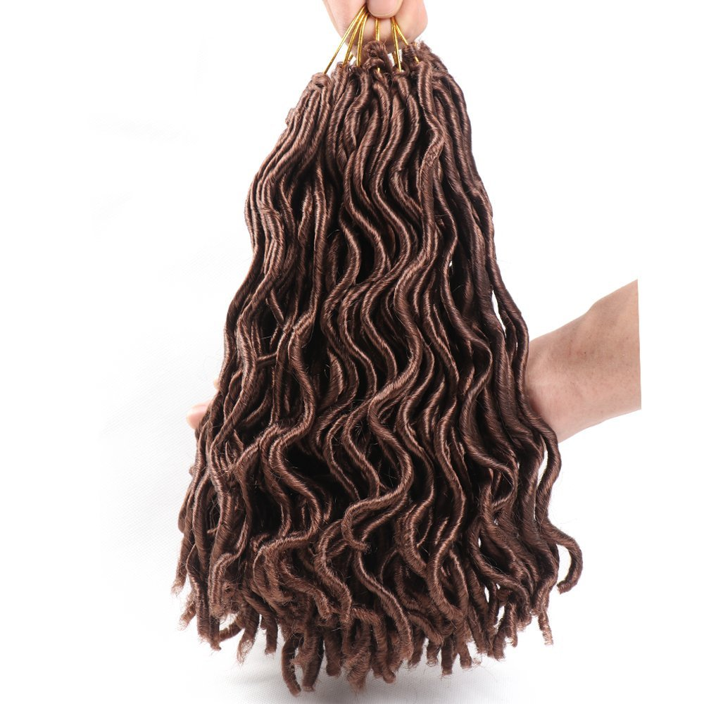 Get Quotations 6 Pcs Abalance Hair 12 Inches Short Faux Locs Crochet Synthetic Braiding Extensions Braids
