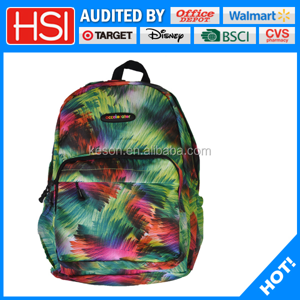 wholesale factory price beautiful girls school bags