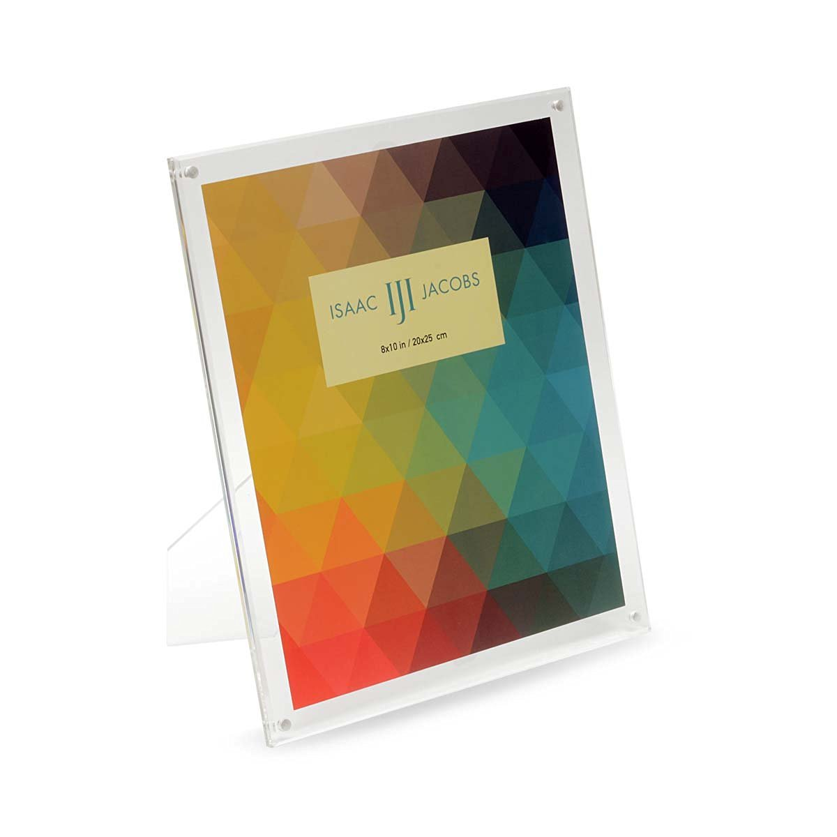 Buy Isaac Jacobs Plain Acrylic Magnetic Frame 8x10 In Cheap Price