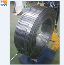 flat steel wire coil