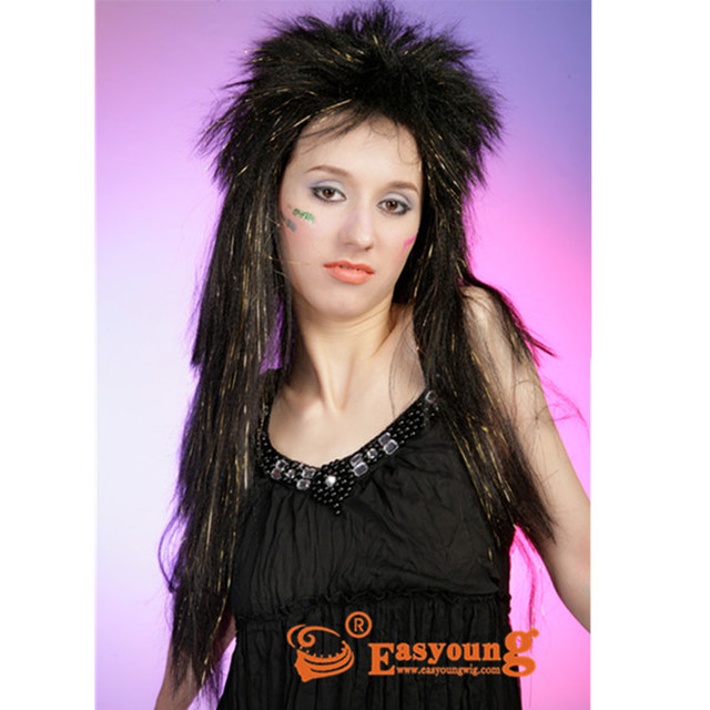 Straight Tinsel Hair Party Tinsel Wig Source Quality Straight
