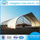 Top Quality Show Ues Ship Use for Storage Peach Shape Tent Curve Sport Tent Aircraft Hangar