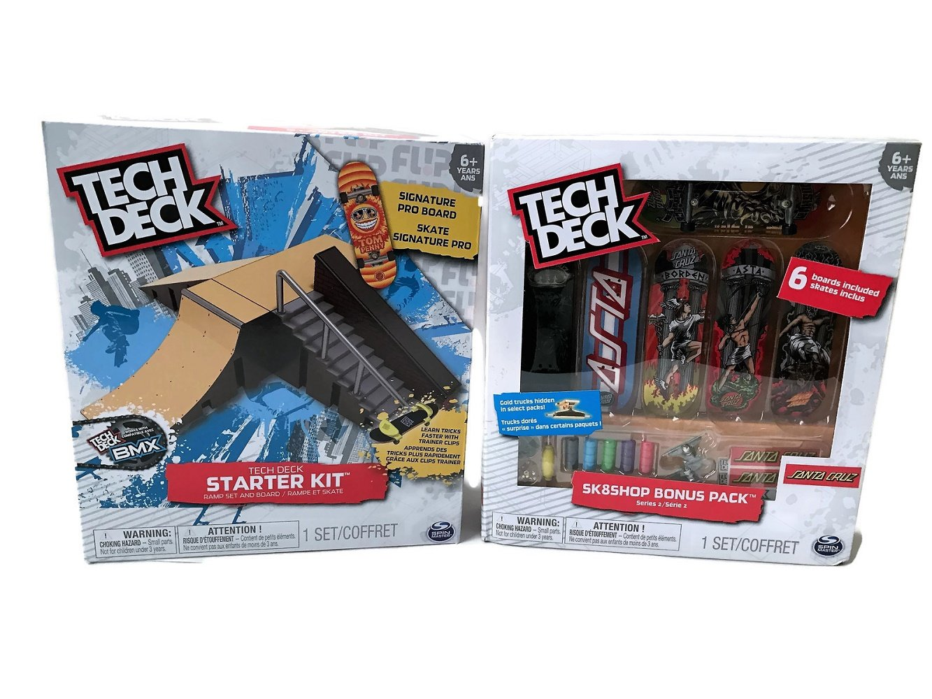 Buy Tech Deck Starter Kit Ramp Set And Santa Cruz Skateboard 6 Pack Bundle In Cheap Price On Alibaba Com