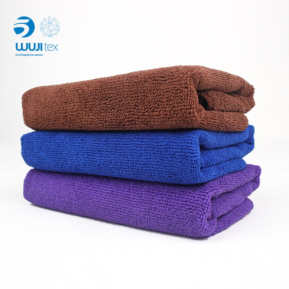 Wholesale Plain Design Bath hotel towel with factory price