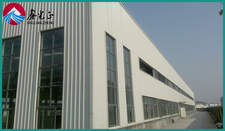 China cost Saving ready Made Steel Structure Warehouse