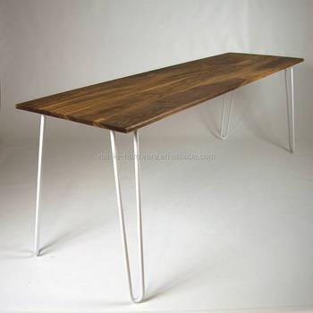 Furniture Legs Type White Metal Steel Hairpin Leg For Wood Table