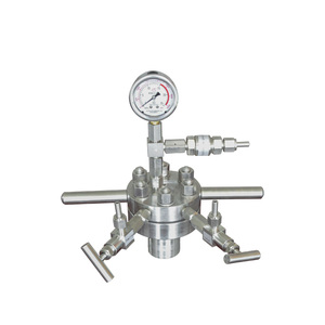 High pressure stainless steel microwave reactor with high quality