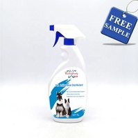 OEM 500ML Dog & Cat Deodorant Spray, Pets Odor Remover Smelly Fur Freshener
