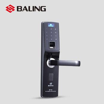 Biometric Fingerprint Lock Electronic Keypad Keyless Door Handle ...
