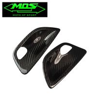 MOS Carbon Fiber Front Door Inner Door Handle Covers For BMW 5 Series