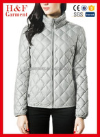 Hot sale Women nylon Ladies Quilted Jacket