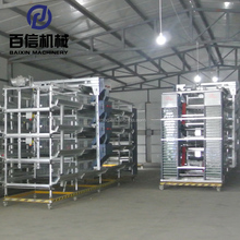 Agricultural Equipment Folding Battery Chicken Cage For Layer Fowl