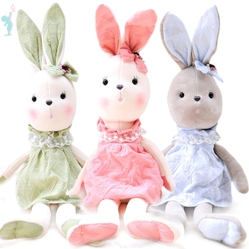 Alibaba Wholesale Soft Big Stuffed Cute Bunny Rabbit Plush Toy For Gifts